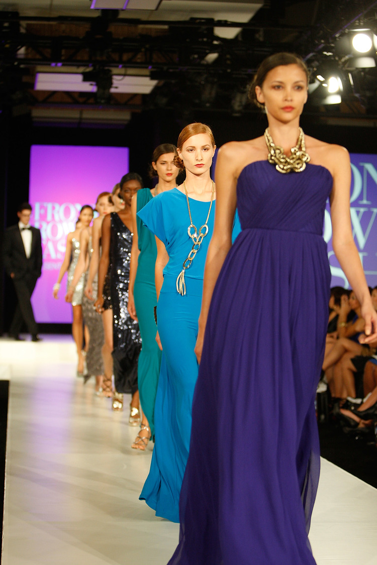 Fashion's Front Row Presented By Vogue At Bellevue Fashion Week Benefitting The Moyer Foundation